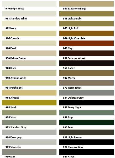 Tec sanded Grout Color Chart Decorating The Yurt Pinterest