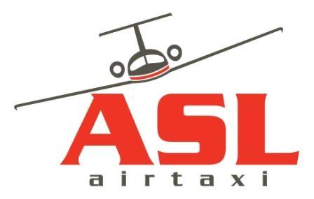 ASL airtaxi Logo. (BELGIAN).