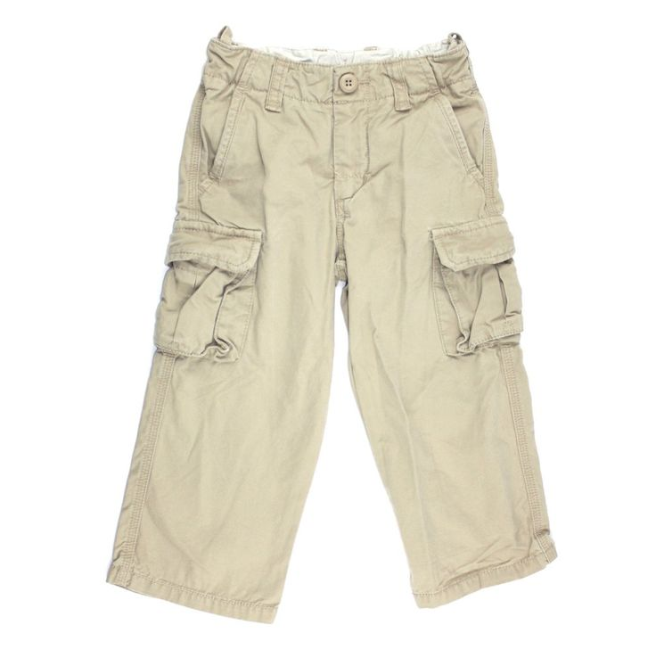 beige pants, BabyGap pants, cargo pants, pants for boys