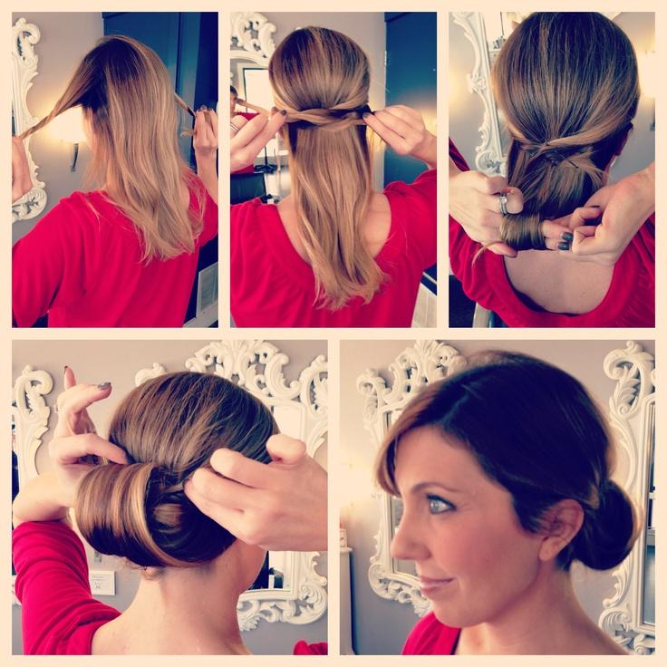 Easy Hairstyles For Work Short Hair : 9 best easy hair styles images on pinterest