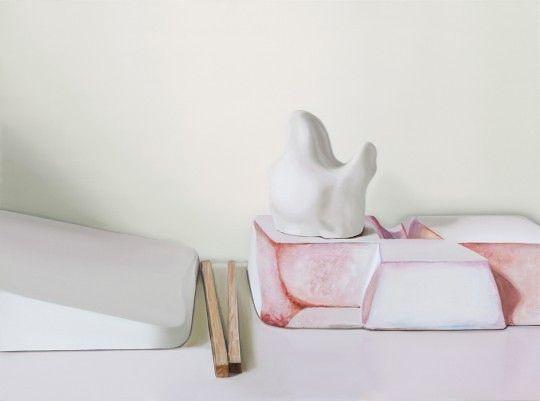 Maude Maris, Agarde, 54x73 cm, huile sur toile, 2013 ©