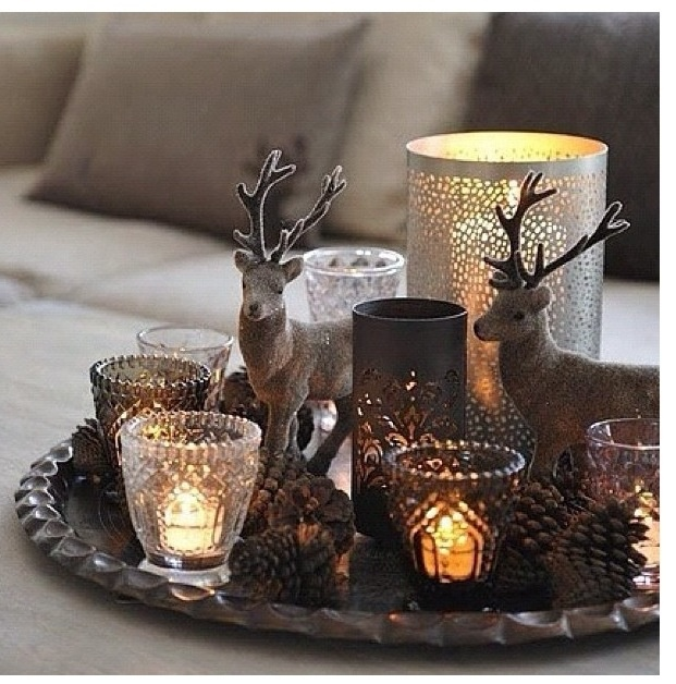 Candles' tray