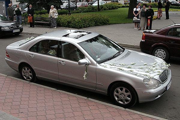 Mercedes w Gladiolach