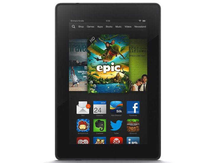 "Kindle Fire HD 7"", Dolby Audio, Dual-Band Wi-Fi, 16 GB - Includes Special Offers Previous Generation - 2nd"