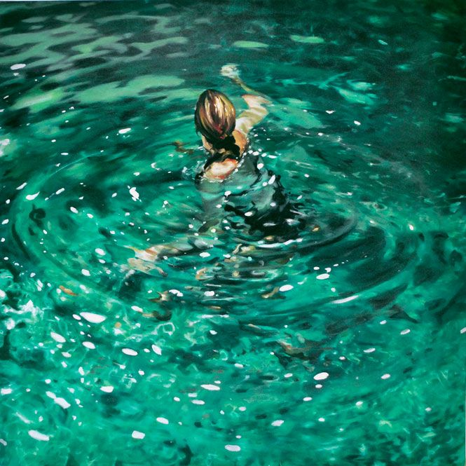 Eric Zener Painting - Summer Lake