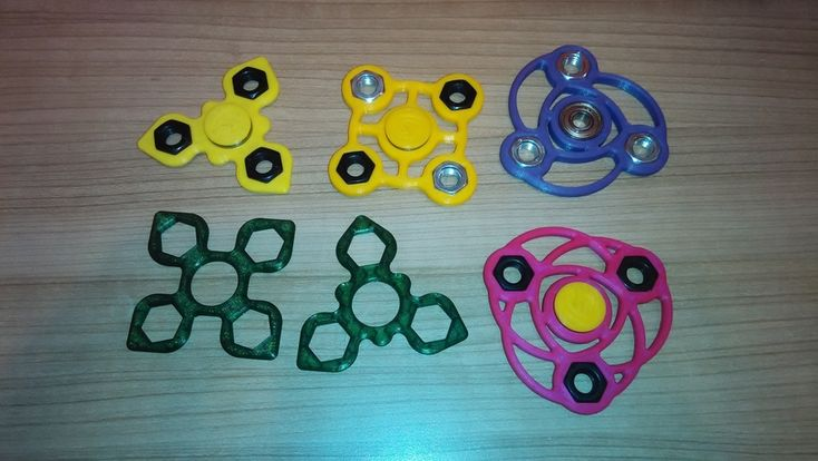 Spinners 608/M10 3D Print 170365