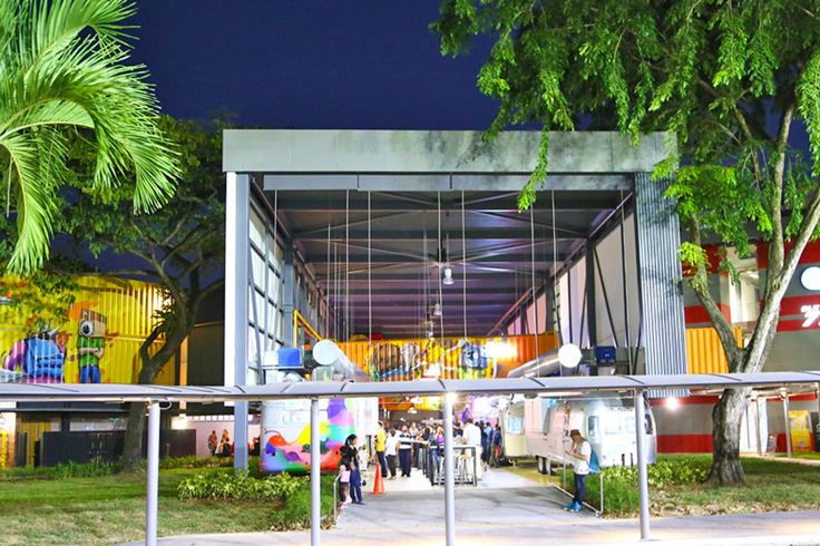 Shipping container style restaurants and food trucks are commonplace in other countries, and popup areas like Bangkok's Artbox has hipsters and youths going i
