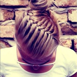 beautiful braids are perfect no matter where you go :)
