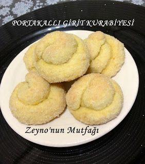 ::: Zeyno'nun Mutfağı :::: Portakallı Girit Kurabiyesi