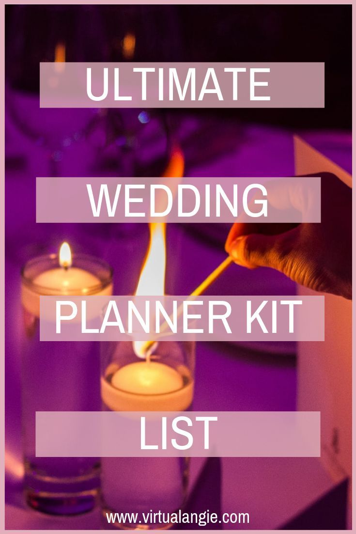 Items Every Wedding Planner Needs in their Kit