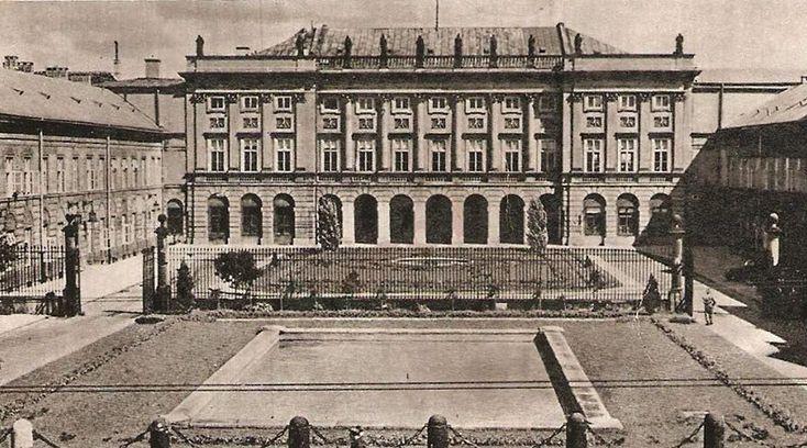 Pałac Rady Ministrów, lata 30. XX wieku