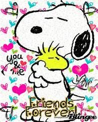 Snoopy and Woodstock from Peanuts are back-and full of love! They ...