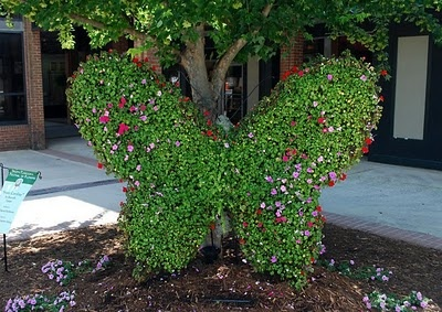 I love the Butterfly Topiary, would be so pretty in the garden!!