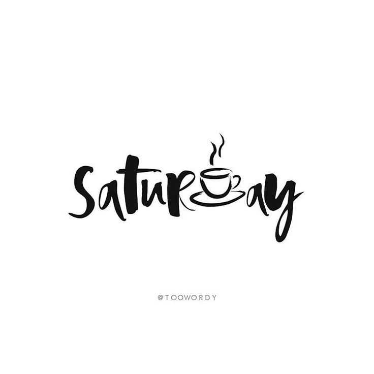 "Too Wordy on Instagram: ""☕️ // #toowordy #toowordytype #saturday #weekend…"