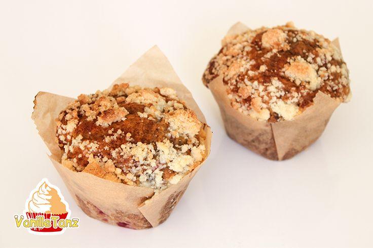 VanilleTanz: Das Beste Rezept für Heidelbeermuffins mit Streuse...