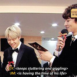 """minblush: """"""""Jimin's disarming smile works on absolutely everyone """" """""""