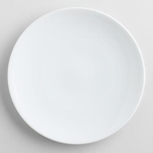 x2 - One of my favorite discoveries at WorldMarket.com: White Coupe Salad Plates, set of 4