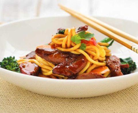 Утка с лапшой по-пекински: фото-рецепт