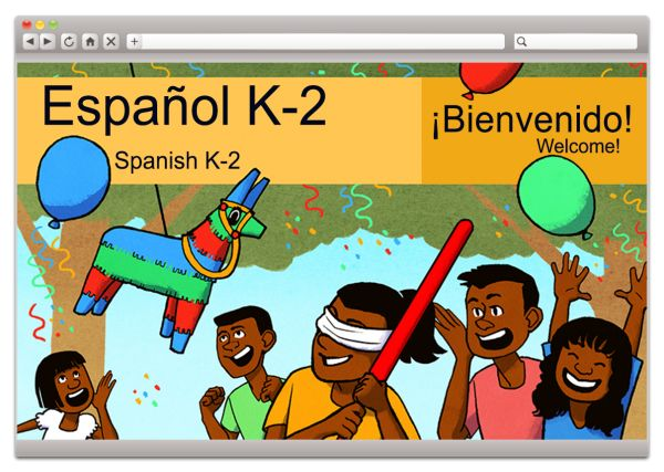 Middlebury Interactive's elementary Spanish course.