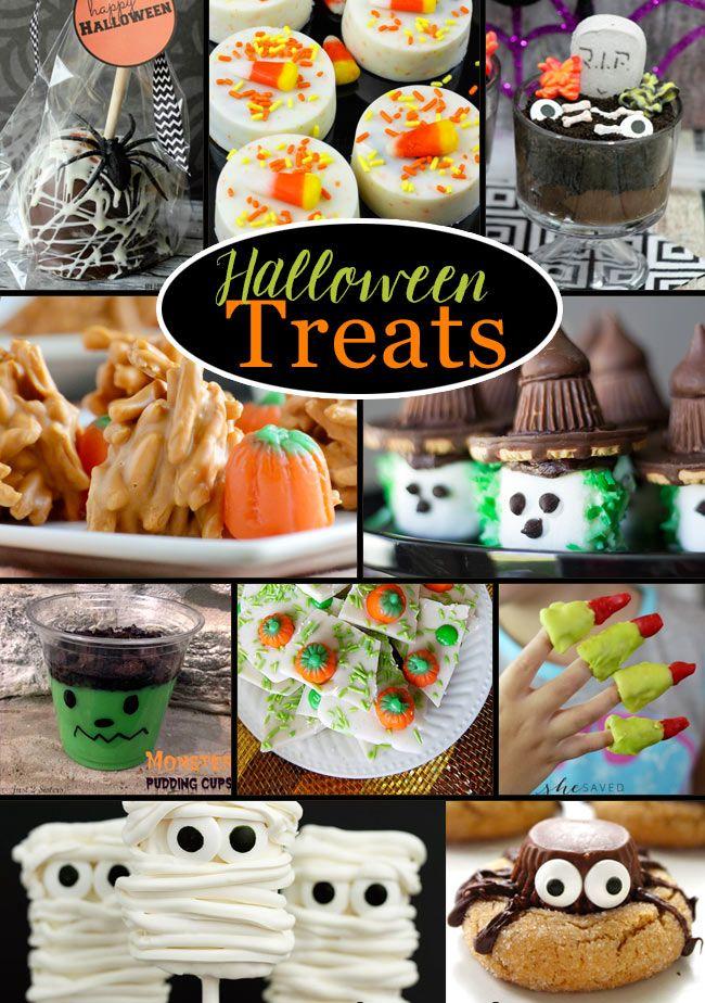 halloween treat recipe ideas - Treat Ideas For Halloween