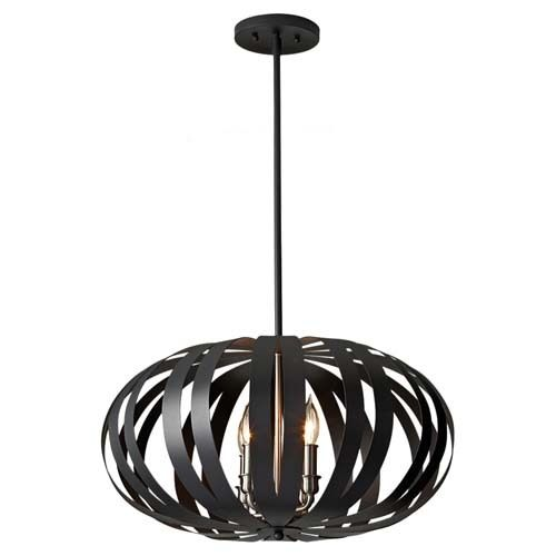 Exceptional Louie Lighting   Murray Feiss F2738/4TXB Woodstock 4 Light Chandelier  Textured Black, $385.00 Photo Gallery