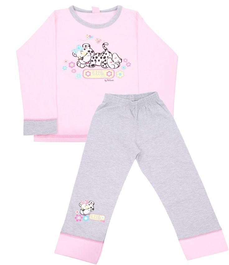 Pettino, Розовая пижама для девочки