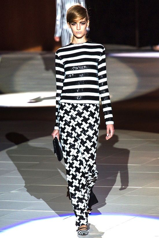 Runway | Marc Jacobs | Style Guide | Black & White | Spring Trend