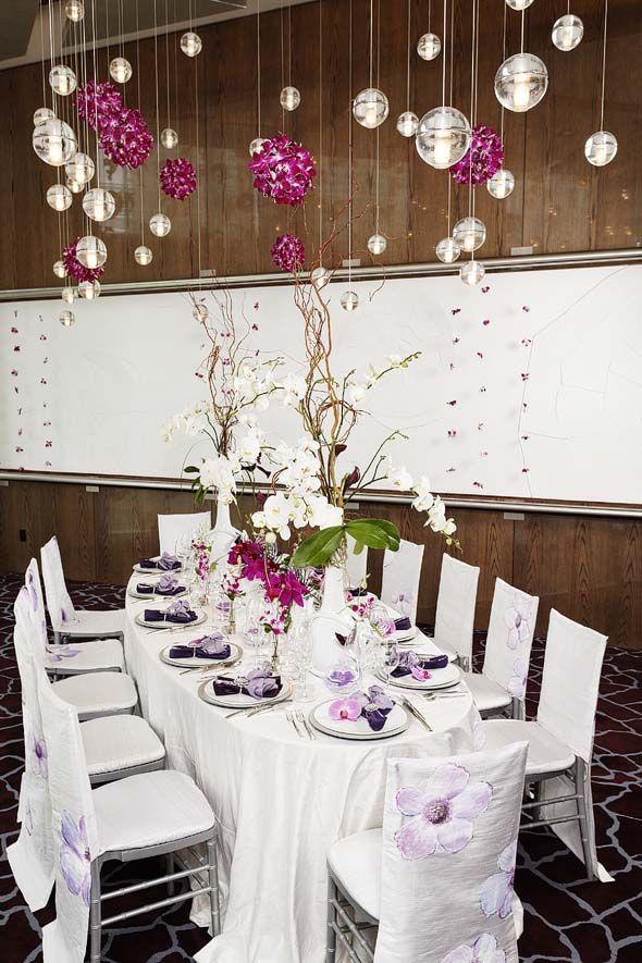 Best ice blue and purple wedding decorations images on