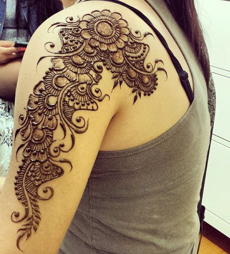 Best 25+ Shoulder Henna Ideas On Pinterest