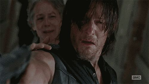 "Daryl's Cry Face Was The Most Heartbreaking Part Of The ""Walking Dead"" Mid-Season Finale"
