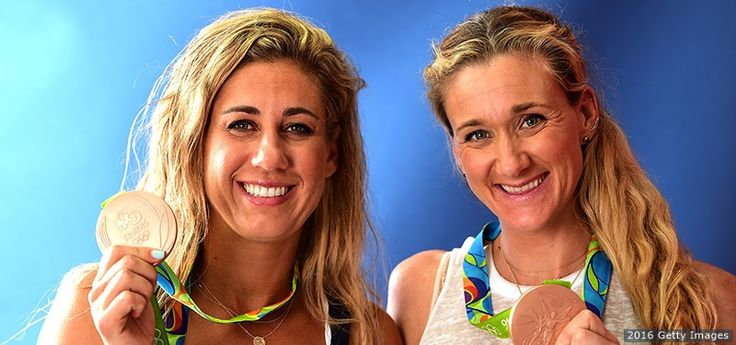 Back On The Beach, April Ross And Kerri Walsh Jennings Reflect On Olympic Bronze And The American Spirit