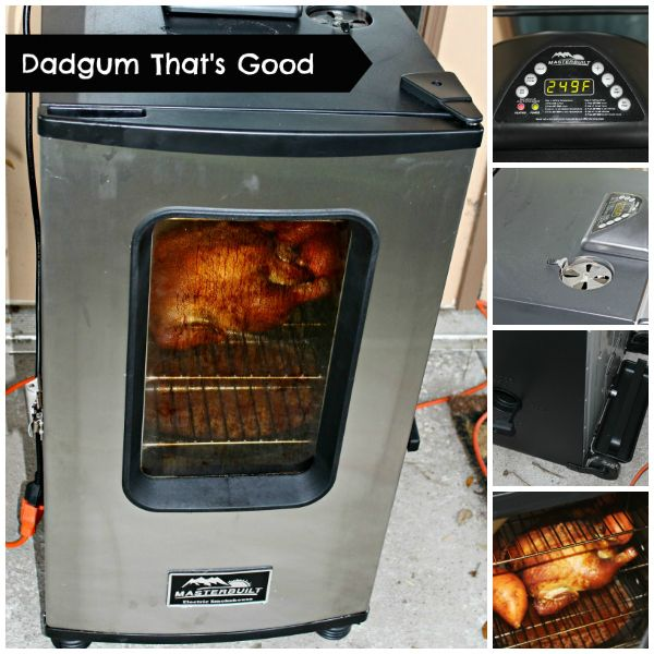Dadgum That's Good: Smoked Whole Chicken Recipe and Masterbuilt Electric Smoker meetmygrillfriend.com