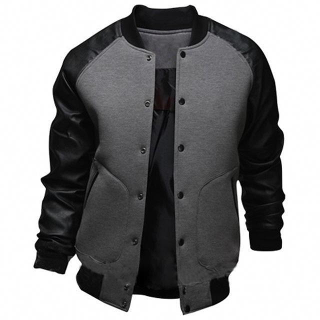 bd806620b08 College Varsity Leather Jacket  stylishclothes