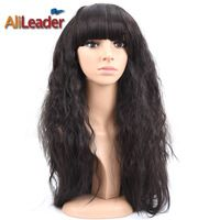 High Quality Wig for Sexy Womens Girls Fashion Style Afro Kinky Straight Synthetic African American Hair Wigs Sale Online