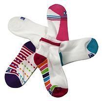 Keds 5 Pair + 1 Bonus Pack Socks - Candy Stripe M