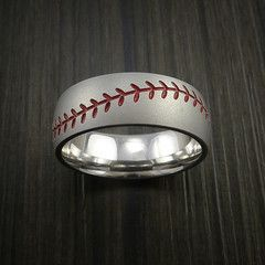 Titanium Baseball Rings