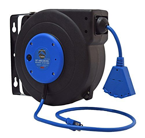 Wall mount extension cord reel titan tankless hot water heater