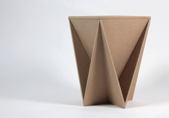 Stool Concept tabouret origami Guillaume Allemon - BED