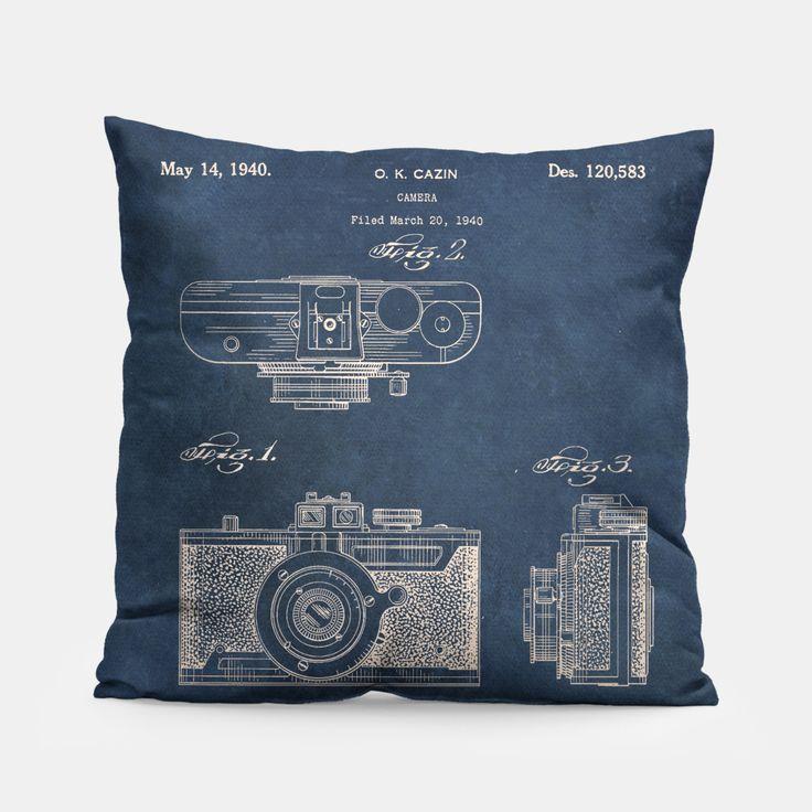 camera Pillow by JBJart 14.95€