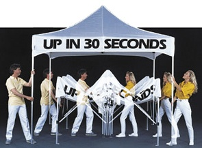 ez up tent 630 perfect for lsu tailgating - U Shape Canopy Decorating