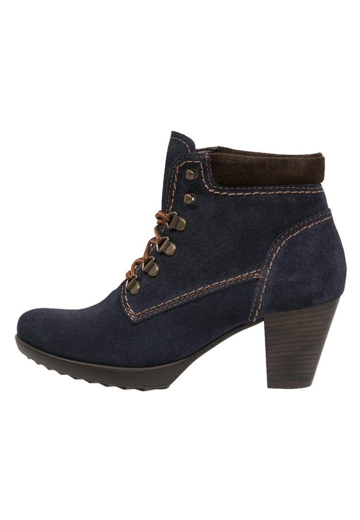 Tamaris Ankle Boot - navy/mocca - Zalando.de