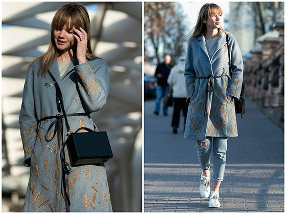Get this look: http://lb.nu/look/8569627  More looks by Anastasiia Masiutkina: http://lb.nu/anastasiiamas  Items in this look:  Valentino Coat, Topshop Jeans, Valentino Sneakers, Mark Cross Bag   #casual #street #eatdresstravel #anastasiiamasiutkina #streetstyle #fashionblogger #fashionista #streetstylevgenio #valentino