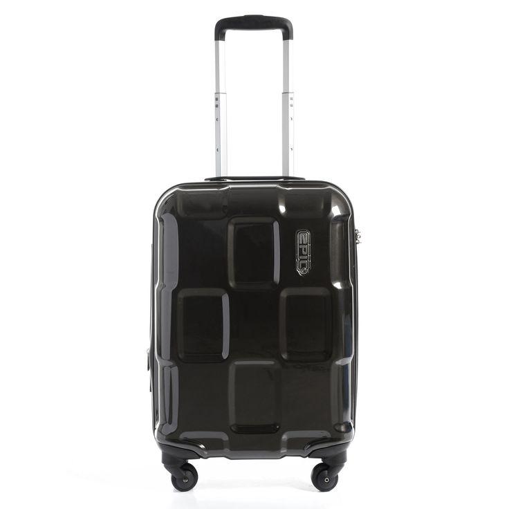#Handgepäck EPIC Crate 4X bei Koffermarkt: ✓Farbe: black magic ✓4 Rollen ✓IATA-konform 55x40x20 cm ✓Hartschale ✓2,5 kg ✓40 Liter Packvolumen