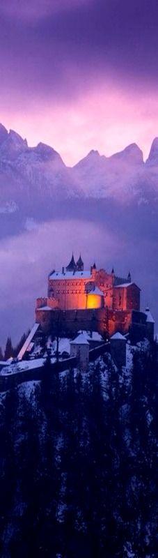 Werfen castle in Austria