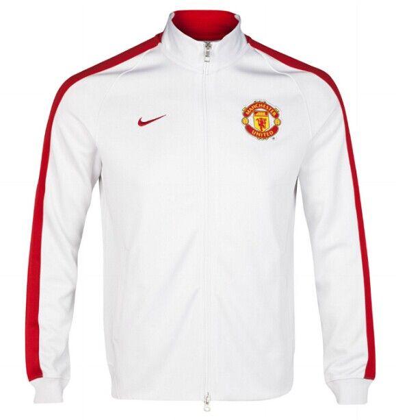 Thailand Quality Manchester United White Jacket 2014/15