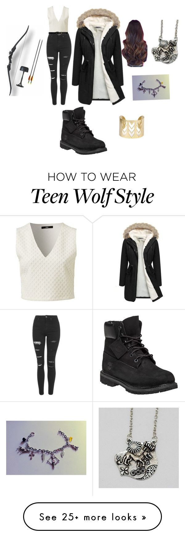 """""""Getting hyped about Crystal Reed's return to TW"""" by hayleybrownie on Polyvore featuring Topshop, Lauren Ralph Lauren and Timberland"""