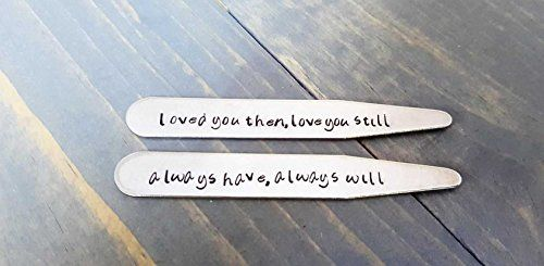 Personalized Collar Stays – Wedding Gifts For Friends