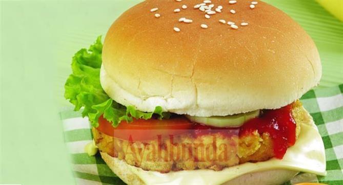 Tempe Burger Keju Ayahbunda.co.id