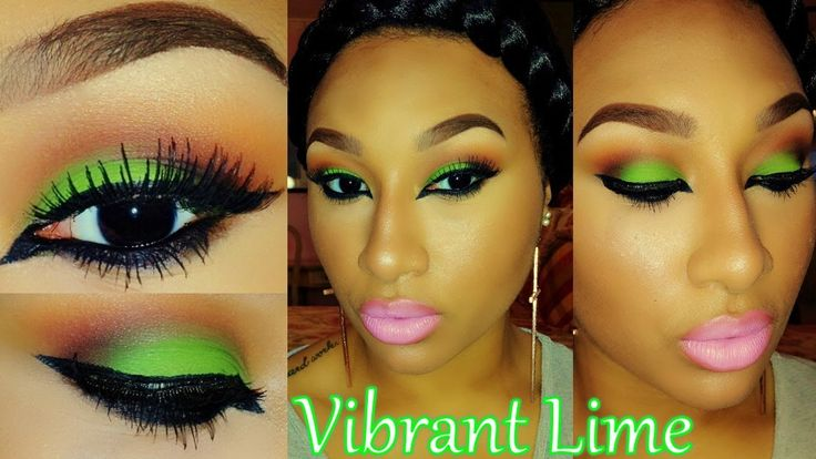 Tutorial| Vibrant Lime