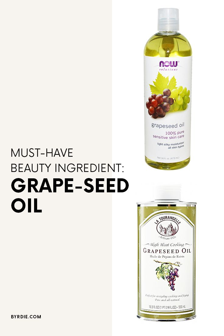The beauty benefits of using grape-seed oil
